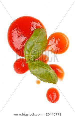 ketchup and basil