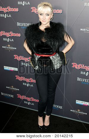 HOLLYWOOD, CA. - NOV 21: Matisse arrives at the 2010 American Music Awards Rolling Stone Magazine VIP After Party at Rolling Stone Restaurant and Lounge on November 21, 2010 in Hollywood, California.