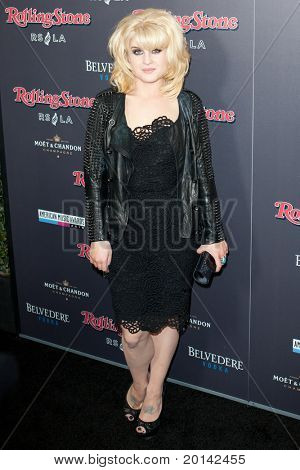 HOLLYWOOD, CA. - NOV 21: Kelly Osbourne arrives at the 2010 American Music Awards Rolling Stone Magazine VIP After Party at Rolling Stone Restaurant and Lounge on November 21, 2010 in Hollywood, Ca.