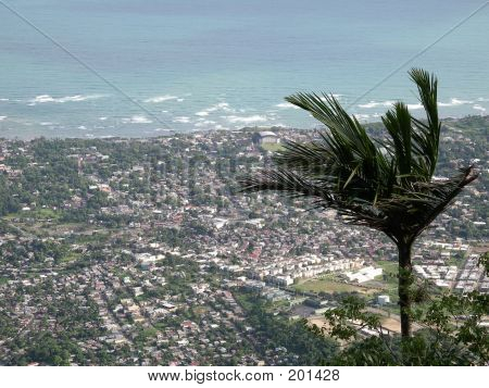 Puerto Plata From Isabel Del Torres View