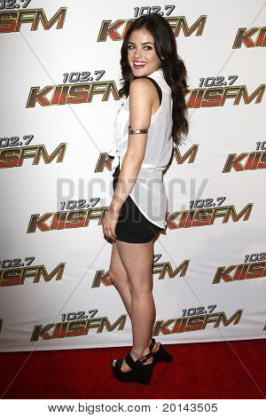 LOS ANGELES - MAY 14:  Lucy Hale at the KIISFM 2011 Wango Tango Event at Staples Center on May 14, 2011 in Los Angeles, CA