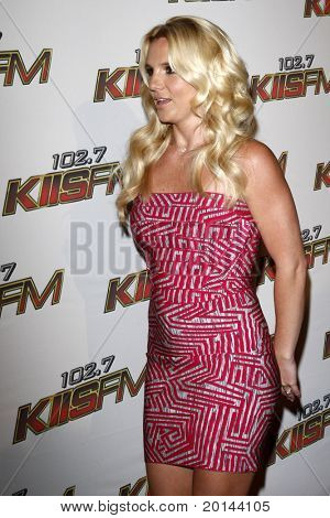 LOS ANGELES - MAY 14:  Britney Spears at the KIISFM 2011 Wango Tango Event at Staples Center on May 14, 2011 in Los Angeles, CA