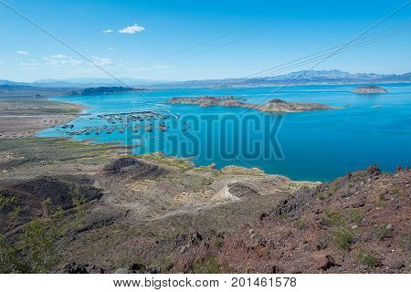 Lake Mead Close To Hoover Dam