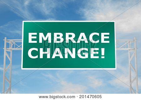 Embrace Change! Concept