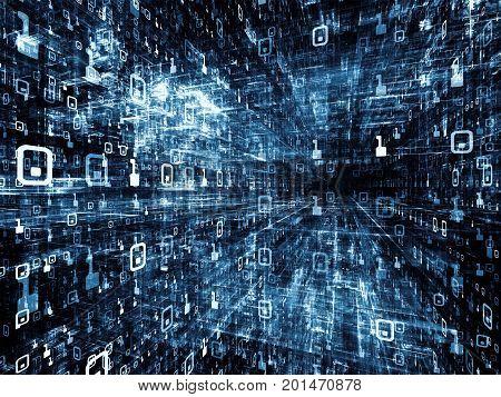 Evolving Digital Space