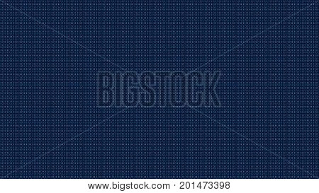 Abstract background with numbers. Digital backdrop. 3d rendering