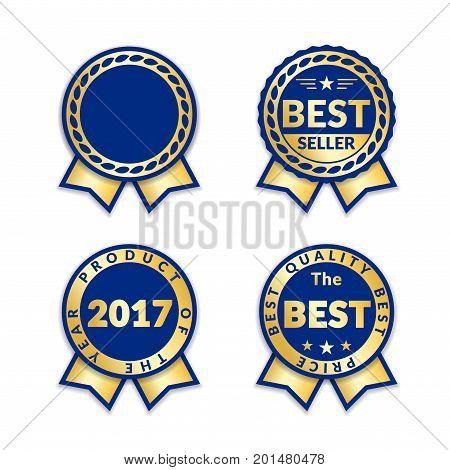 Award Ribbon The Best Seller Set
