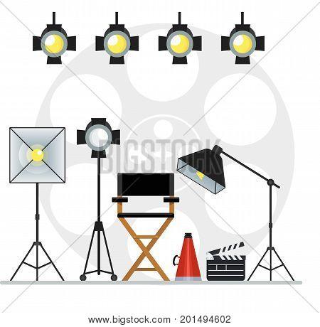 Videoproduction Studio Concept