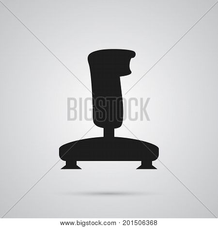 Vector Joystick Element In Trendy Style.  Isolated Gamepad Icon Symbol On Clean Background.