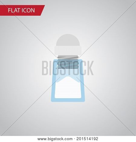 Sodium Vector Element Can Be Used For Salt, Sodium, Saltshaker Design Concept.  Isolated Saltshaker Flat Icon.