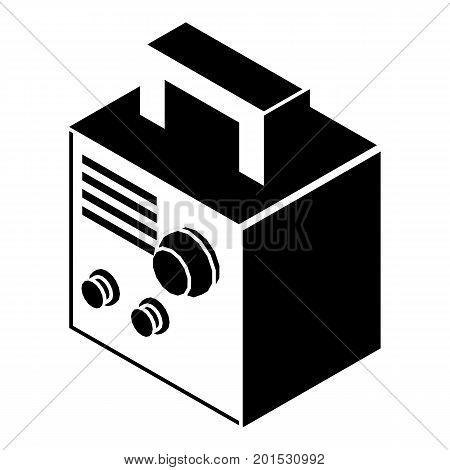 Electro welding machine icon. Simple illustration of electro welding machine vector icon for web poster
