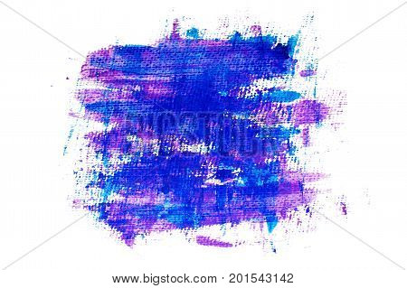 Purple blue grunge painted background. Element for different design