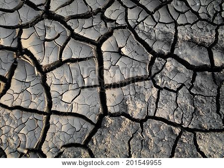 Soil, dry soil background. Cracked soil background. Soil texture. Gray soil. Soil texture. Soil background.  Earth background. Earth texture. Nature background.Cracked earth. Grunge. Grunge background. Earth pattern. Drought. Natural background.