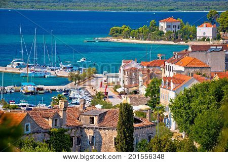 Island Of Zlarin Waterfront View