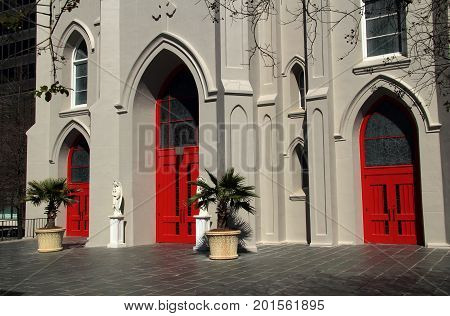 Historic St. Joseph Cathedral in the city of Baton Rouge, Louisiana