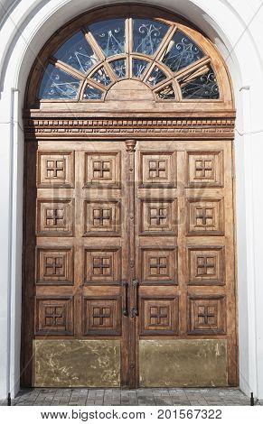 Detail Of Orthodox Church Doors