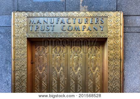 Manufacturers Hanover Trust Company Bank