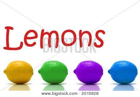 Rainbow Lemons