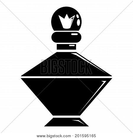 Queen perfume icon. Simple illustration of queen perfume vector icon for web