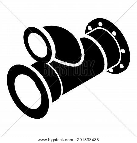 Cellar pipe icon. Simple illustration of cellar pipe vector icon for web