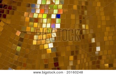 square copper background with beautiful colors