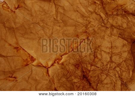 orange brown crinkled background