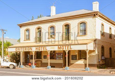 Criterion Hotel Motel in Quorn, SA, Australia, 9 February 2013