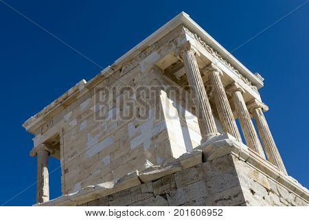 temple of athena nike propylaea of acropolis