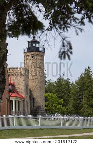 Old Mackinaw Point Lighthouse, Mackinaw City Michigan