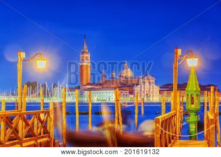Views Of The Most Beautiful Canal Of Venice - Grand Canal Water Streets, And View On  San Giorgio Ma