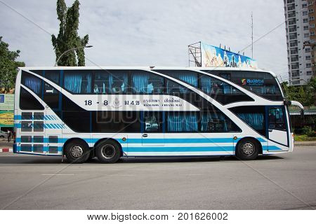 Bus Of Sombattour Company.