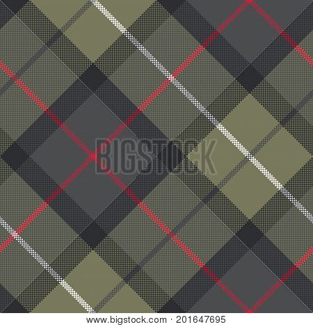Classic tartan check plaid seamless pattern. Vector illustration.