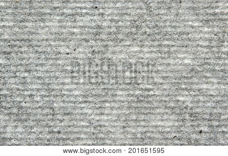 Surface texture of flat asbestos cement sheet as background