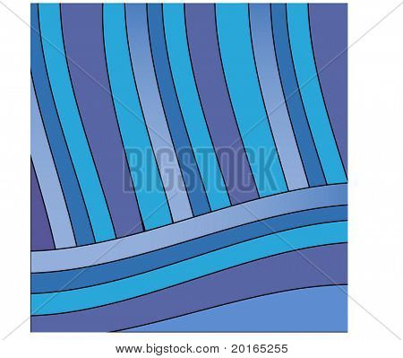 funky stripe background illustration