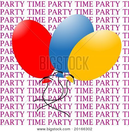 Balloons with room for your input and words