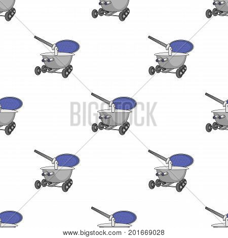The spacecraft, Lunokhod. Space technology single icon in cartoon style vector symbol stock illustration .