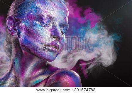 Multi-colored Smoke