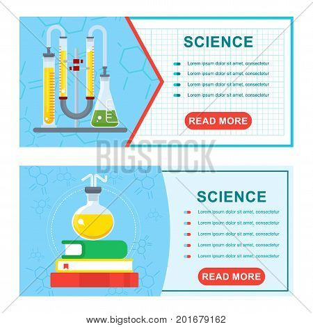 Science Banners Set