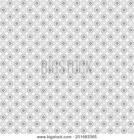 Seamless Abstract Grunge Black Texture Fractal Patterns