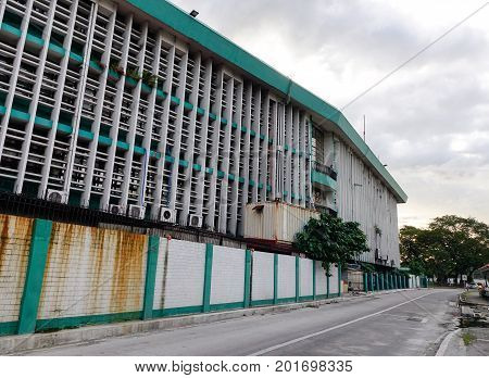 Intramuros District In Manila, Philippines