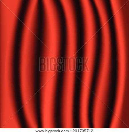 Red Curtain Realistic Background
