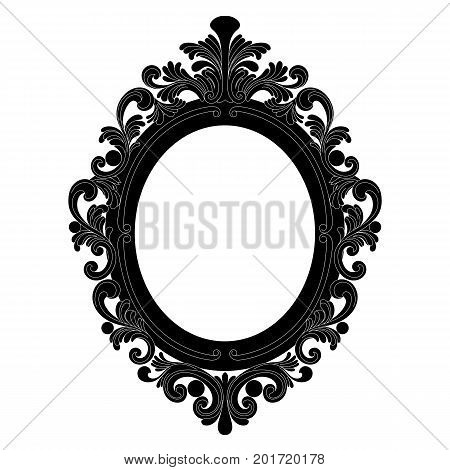 Vintage Oval Pattern Frame Border Vector Photo Bigstock