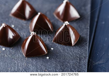 Luxury Pyramid Shaped Chocolate Candy