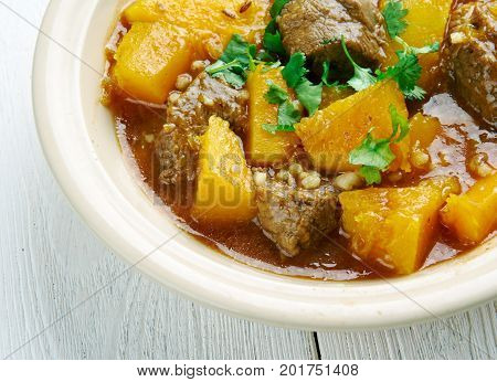 Beef and Butternut Squash Stew, rench cuisine