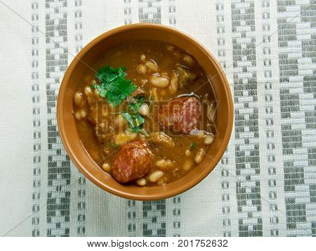Beans With Sausages