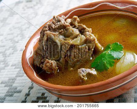 Mutton Paya Pakistani Soups