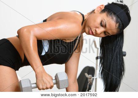 Fitness-Mädchen