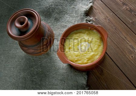 Cornmeal Pap