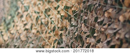 Camouflage net Army camouflage pattern. Military camouflage net.