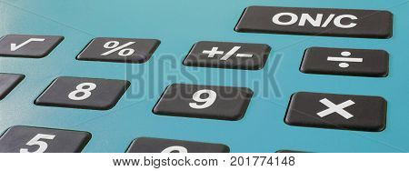 Calculator Close up. Tax calculator concept. Business concept